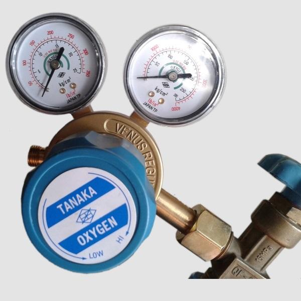 Đồng hồ Oxy, Gas, Argon, CO2 hiệu Binzel, Wescol và Tanaka