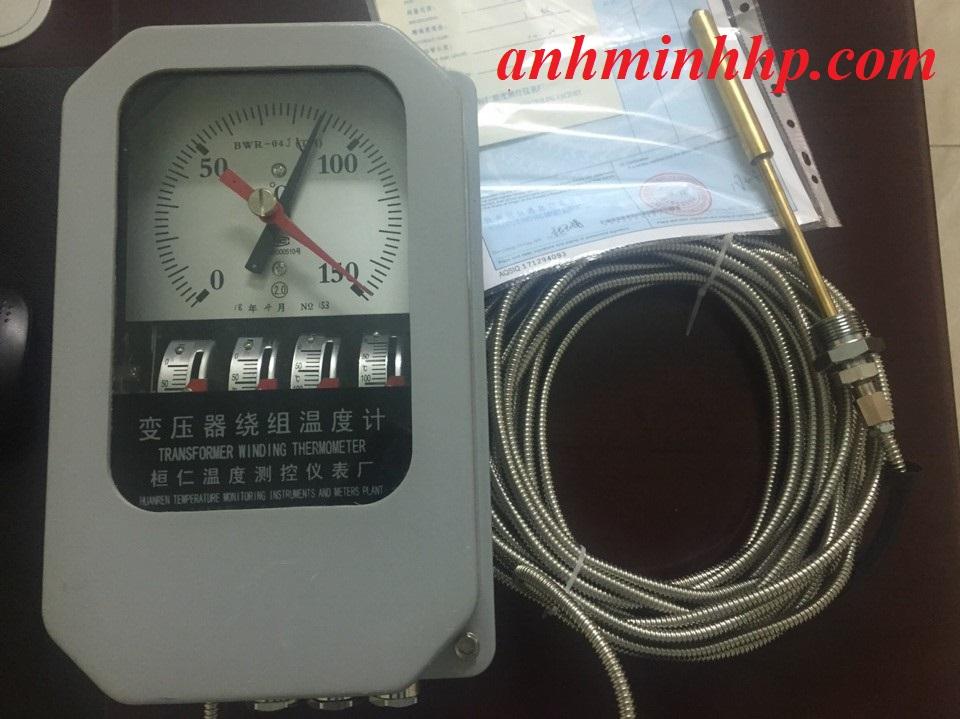 Đồng hồ giám sát nhiệt độ máy biến áp BWR-04J(TH)