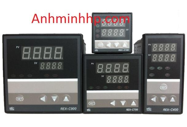 Điều khiển nhiệt độ RKC REX-C400, C700, C900 cho ứng dụng phổ thông
