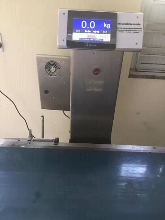 Dự án thiết kế, thi công hệ thống  cân kiểm tra trọng lượng hàng hóa sử dụng trong nhà máy hóa chất tại Hải Phòng do Anh Minh Automation thực hiện